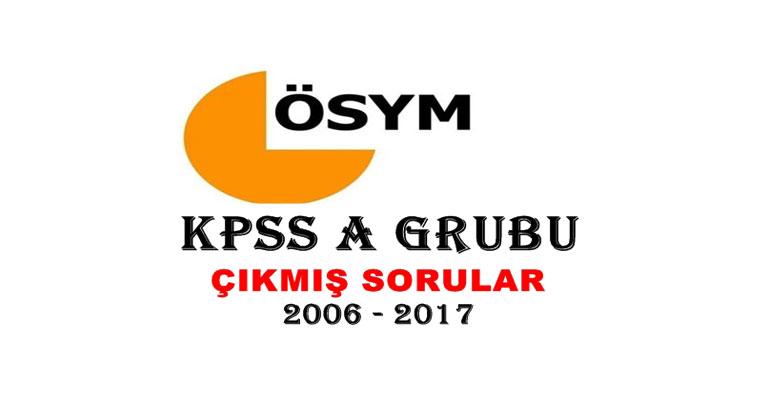 KPSS A Grubu Çıkmış Sorular