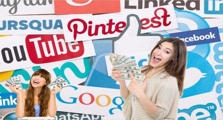 Sosyal Medya ile Para Kazanmanın 6 Yolu