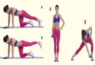 Mükemmel Bacaklar ve Kalçalar için 7 Basit Egzersiz