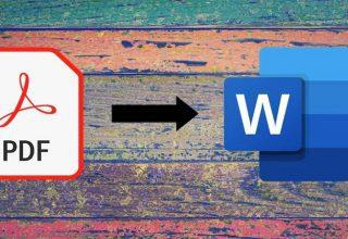 PDF'yi Ücretsiz Olarak Word'e Dönüştürme