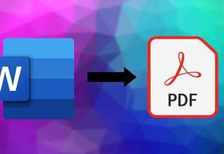 Word'ü Ücretsiz Olarak PDF'ye Dönüştürme