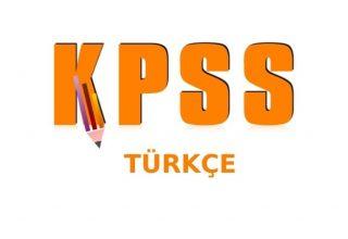 KPSS Önlisans Türkçe Çıkmış Sorular PDF İndir