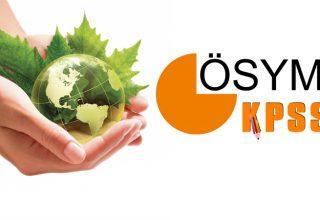 Çevre Sağlığı KPSS Atama Taban Puanları 2021