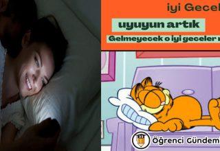 Komik İyi Geceler Mesajları: Sevgiliye, Arkadaşa Resimli