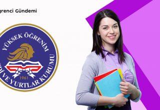 KYK Misafir Öğrenci Yurt Ücretleri 2021-2022