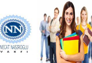 Necat Nasıroğlu Vakfı 2021 Burs Başvuruları Başladı