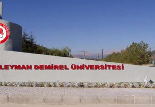 Süleyman Demirel Üniversitesi 18 Personel Alacak