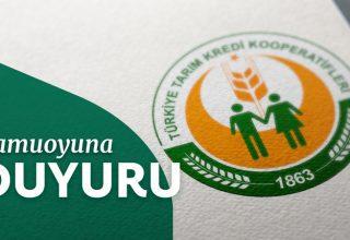 Tarım Kredi Kooperatifleri 3 Bölge'de 82 Ziraat Mühendisi Alacak