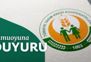 Tarım Kredi Kooperatifleri 46 Personel Alacak