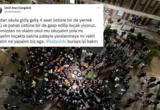 İstanbul Kanuni Sultan Süleyman KYK Yurdunda Ayaklanma