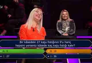 Üniversitede Akademisyen Yarışmacı Kim Milyoner Olmak İster Yarışmasında 2. Soruda Elendi