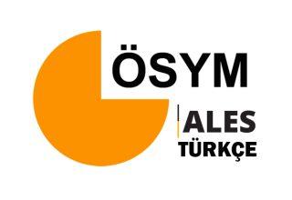 ALES Türkçe Konu ve Soru Dağılımı 2022
