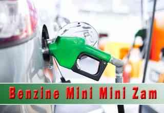 Benzine Mini Mini Zam: Benzine Pazartesi Yine Zam Geliyor!