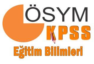 KPSS Eğitim Bilimleri Soru Dağılımı 2022 (YÖK-ÖSYM)