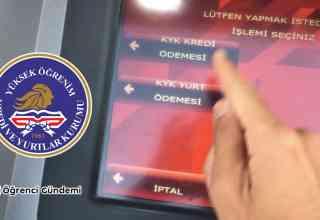 KYK Borç Ödeme: KYK Borç Ödeme ATM'den Nasıl Yapılır?