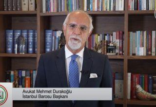 Üçüncü Kez İstanbul Baro Başkanı Olan Av. Mehmet Durakoğlu Kimdir?
